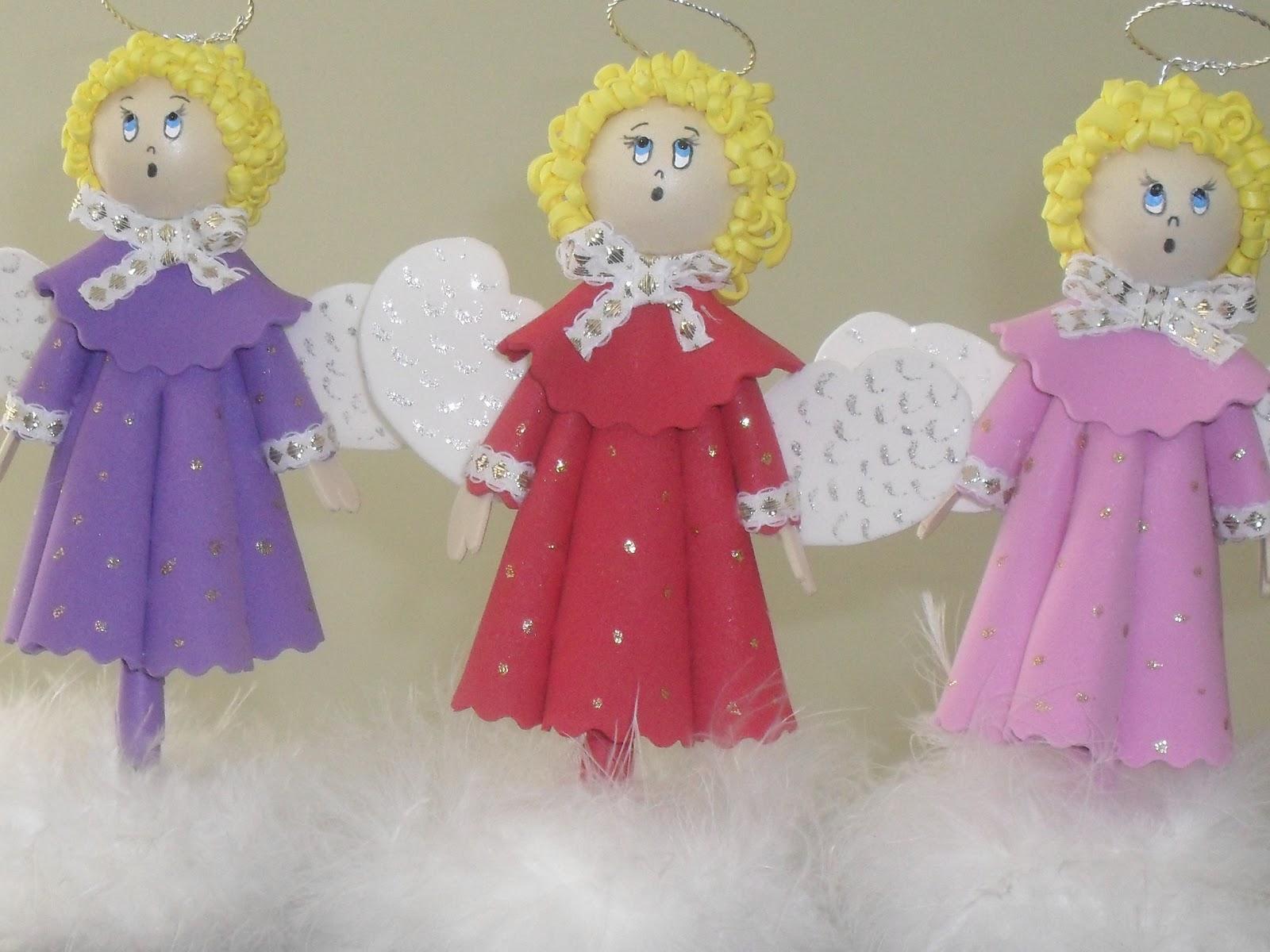 Reciclagem passo a passo anjo natalino sonho de artesanato