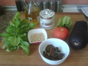Ingredientes para la milhoja.