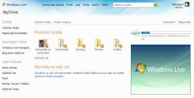windows live skydrive screenshot
