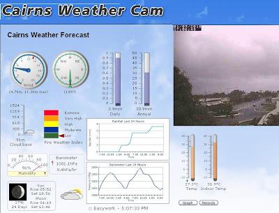 CairnsBlog.net: New Cairns weather cam