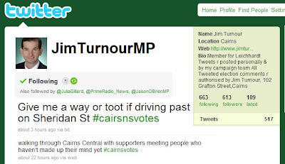 Cairnsblog net tongue tied teichhardt turnour tweets to tout tooting