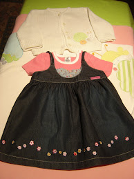 vestido petit patapon, 3 meses3,50eur, casaco 2,ooeur