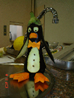 Pinguim de Berinjela e Cenoura