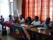 Asamblea del COMANDO DE DEFENSA DEL RÍO Y LA TIERRA.