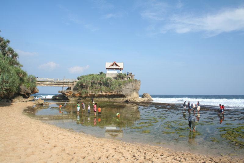The Kukup Beach