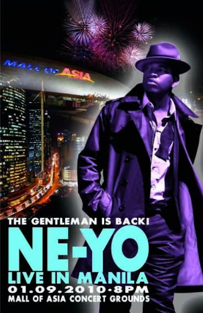 Neyo Live in Manila
