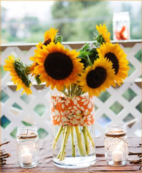 Home party ideas table decoration centerpieces and