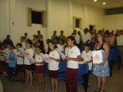 Alunos de nossa escola apresentando-se na Câmara Municipal de Paraguaçu