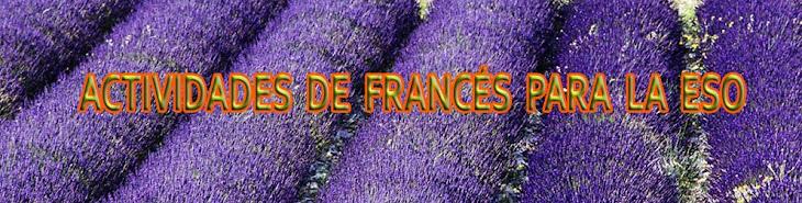 Actividades de Francés para la ESO