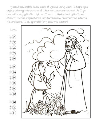 Easter Coloring Pages on Easter Coloring Page 2010
