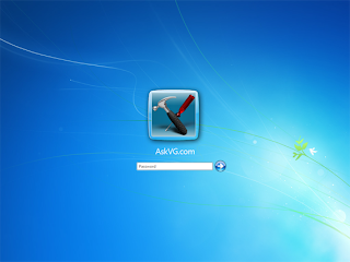 windows 7 login screen build7057