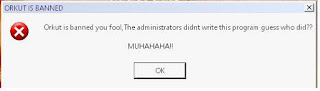 orkut virus muhahaha