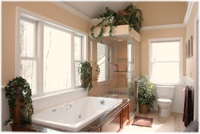 Bathroom Interior Design With Lighting Fixtures