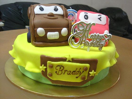 Mom And Daughter Cakes Cars Cake Mater And McQueen