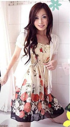 maxi floral chiffon dresses | eBay