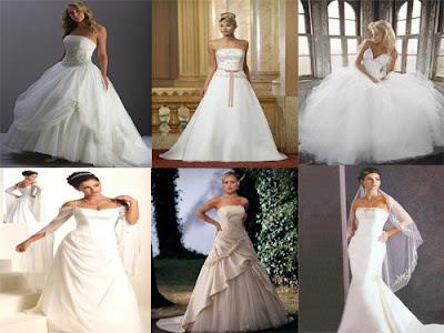 Fashion Trend for White Wedding Dresses
