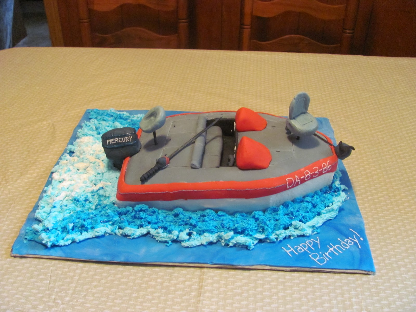 Cake Images Boat : Inspired By Grace: Boat Birthday Cake