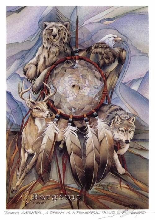 Dream Catcher Native American Art