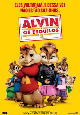 Filme Poster Alvin e Os Esquilos 2 DVDRip XviD Dual Audio