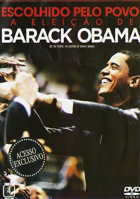 Filme Poster Escolhido Pelo Povo - A Eleição De Barack Obama DVDRip RMVB Dublado-Telona