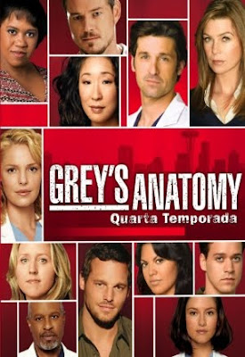 Grey's Anatomy - 4ª Temporada Completa - HDTV Legendado