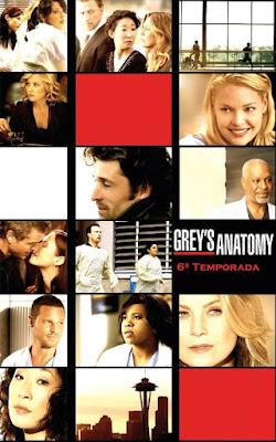 Grey's Anatomy - 6ª Temporada Completa - HDTV Legendado