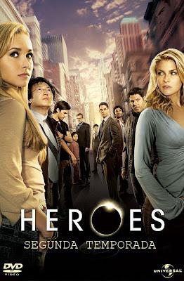 Heroes - 2ª Temporada Completa - DVDRip Dual Áudio