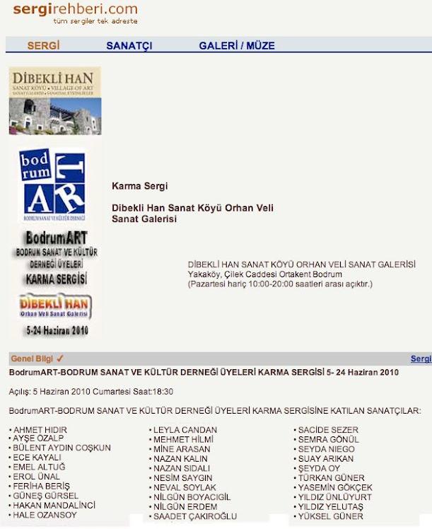 SERGİ REHBERİ / DİBEKLİ HAN