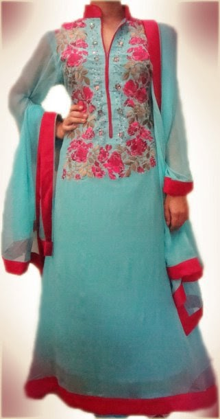 pakistani casual dresses 2013 pictures designs clothing