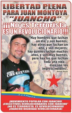 """Libertad Para Juan Montoya """"Juancho"""""""