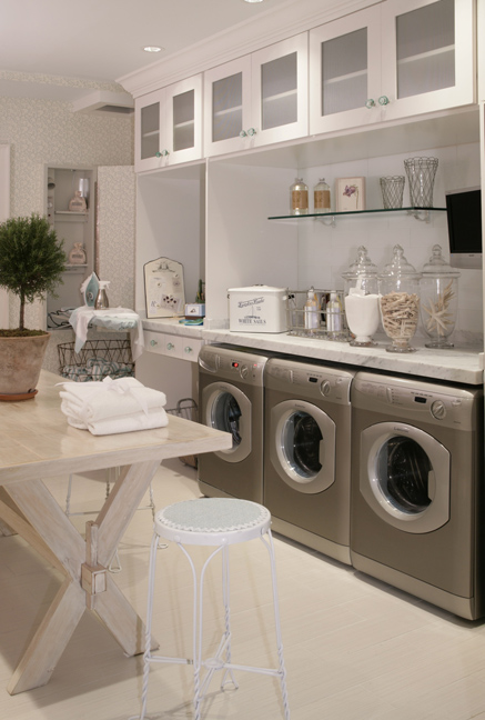 AB HOME INTERIORS: How to take charge of your laundry room with