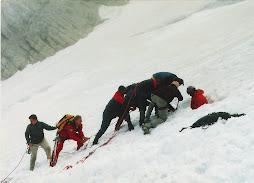 Dachstein srpen 1999  záchranná akce