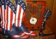 Click on my boots to visit the Radio Ranger's Ranch!