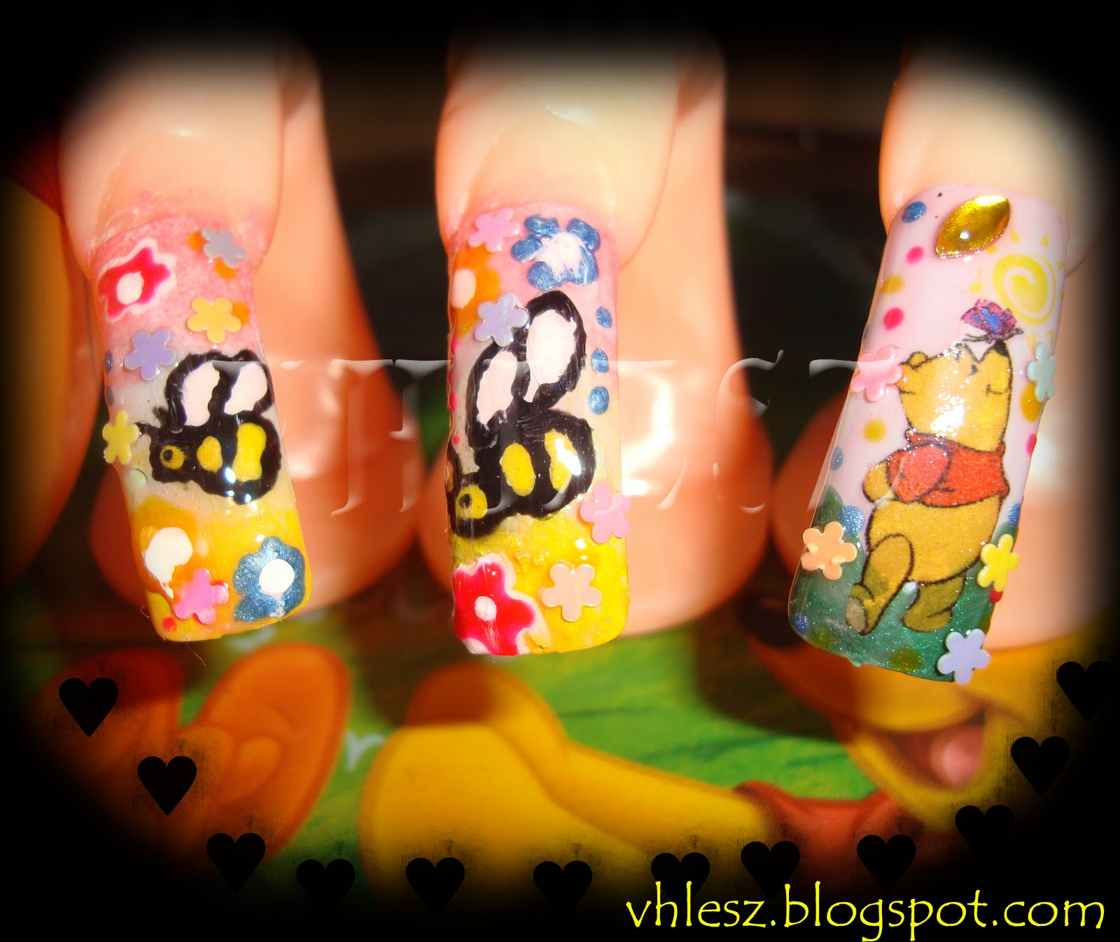 Winnie The Pooh Nails: My Colorful Nailart: Winnie The Pooh Nail Art