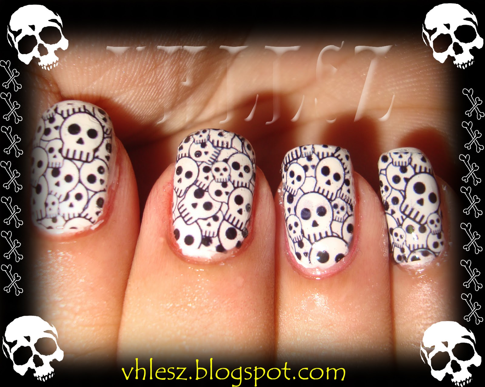 My Colorful Nailart Skull Nailart Decals