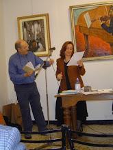 Richard Burns' poetry reading, Arezzo, Dicembre 2003