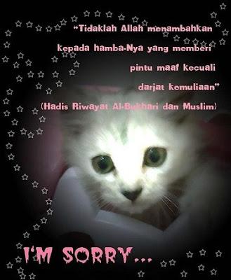 i'm sorry maaf