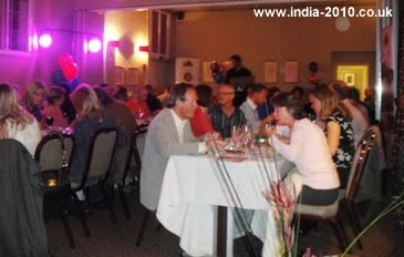 Meal of Curry at the India 2010 Charity Auction - with entertainment by Alvin Stardust and his wife, Jules