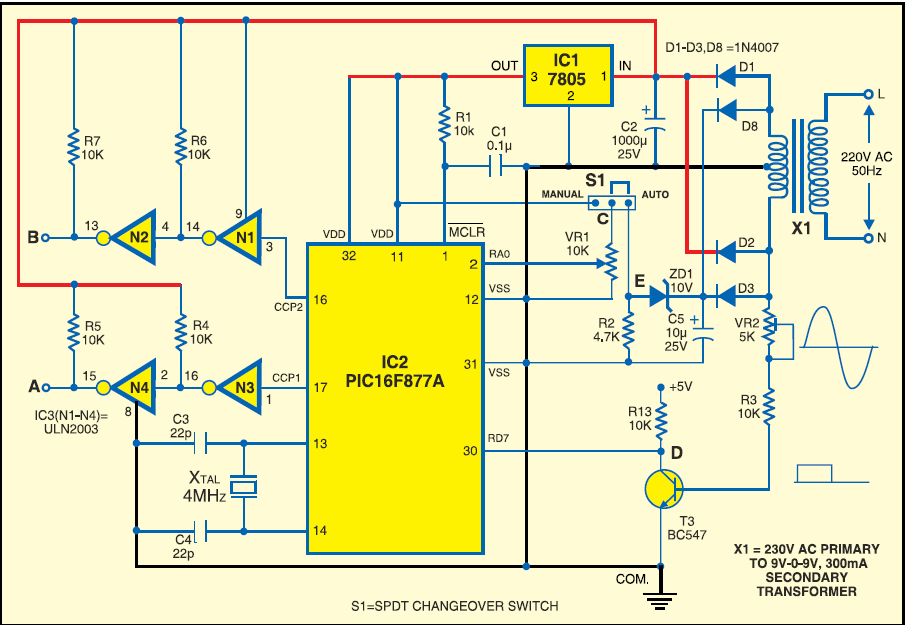 Electrical Schematic Symbol For Battery moreover Relay Type Voltage Stabilizer Circuit Diagram further Car Auto Voltage Regulator Schematic Diagram moreover Watch together with Digital Schematic Building. on automatic voltage stabilizer circuit diagram