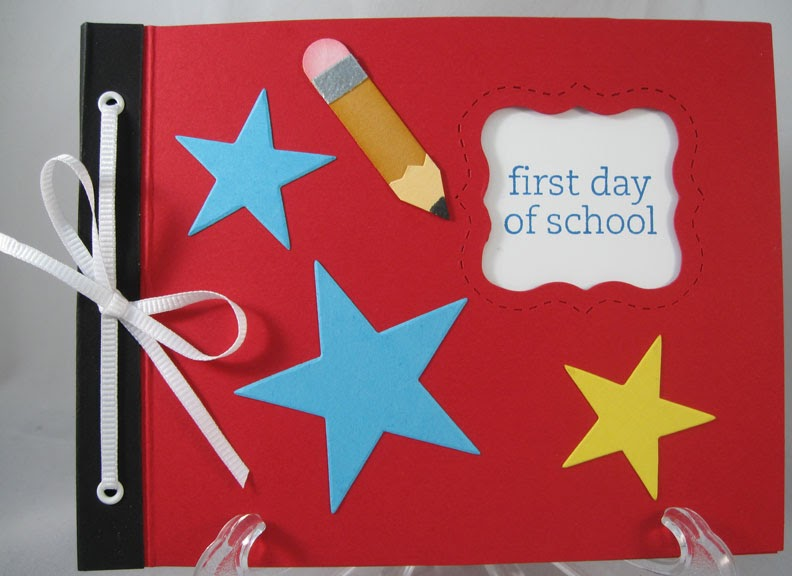 Book Cover Ideas For School Kids : Stampin in the country first day of school mini book