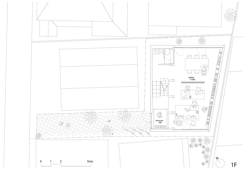 Casa y Atelier - Atelier Bow-Wow