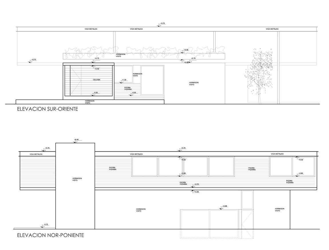 Casa Carvallal - Dufey - Mas y Fernández Arquitectos