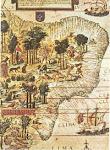 Mapa do Brasil - século XVI