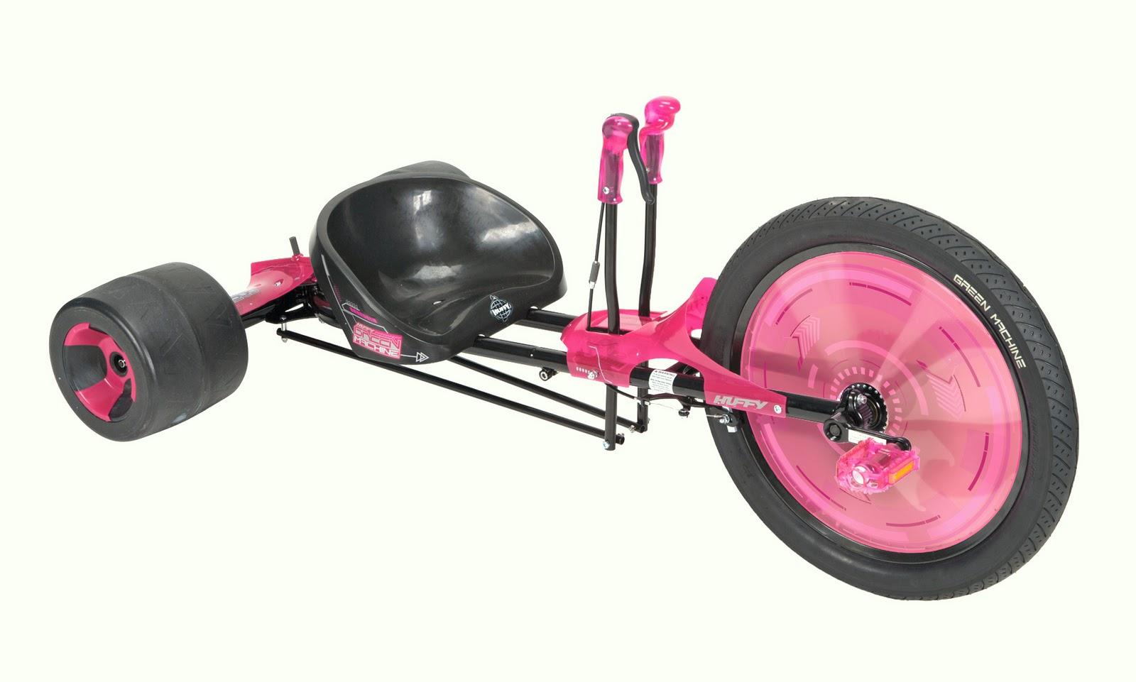 pink machine huffy