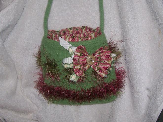 Cute little green Bag