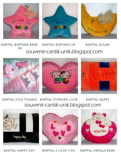 Bantal Valentine Tersedia Variasi Souvenir Cantik