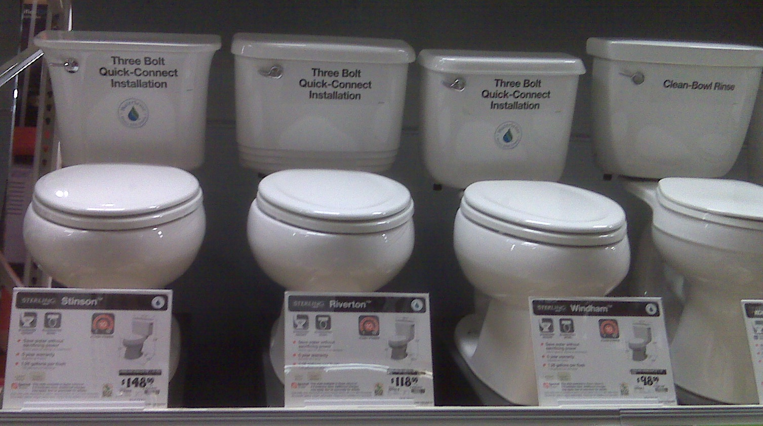 shopping for a toilet we headed out to Home Depot and Lowes to price toilets  And. Lowes Toilets  universalcouncil info