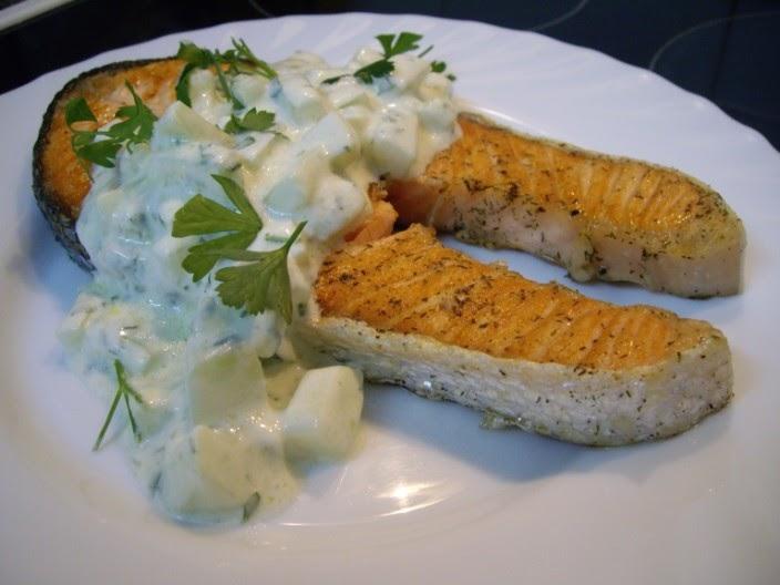 Mis recetas de cocina salm n a la brasa de jamie oliver for Cocina 5 ingredientes jamie oliver
