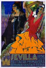 cartel de sevilla  año 1926