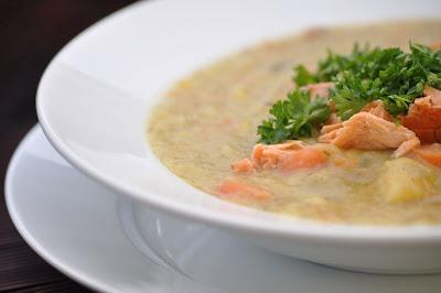 Nourishing Meals: Creamy Potato Leek Soup